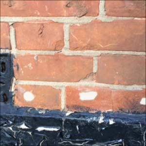 Image 21 - Damaging chemical damp proofing treatment. If any contractor recommends chemical damp proofing treatment come to us for a second opinion.