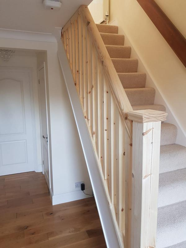 Image 27 - Stair Banister Referbishment- Aldershot