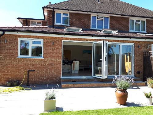 Image 17 - Single storey extension with garage