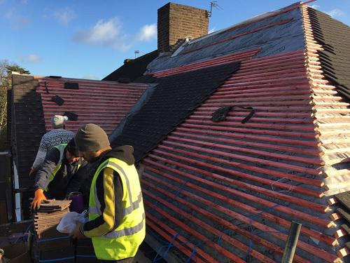 Image 7 - New tiled roof during