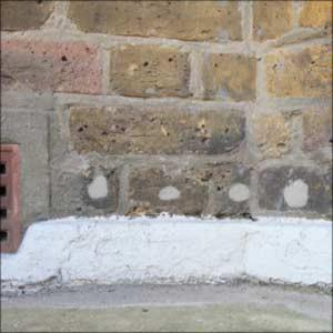 Image 20 - Almost every property we damp survey has already had damp proofing treatment - do the chemicals work????