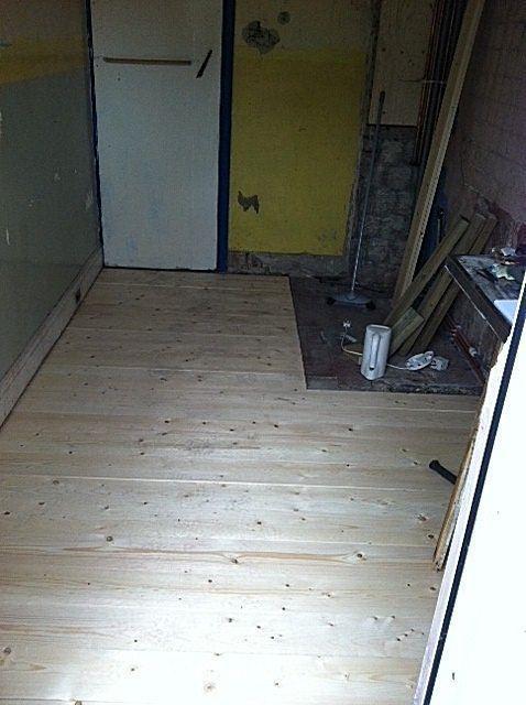 Image 8 - new kitchen floor and joists