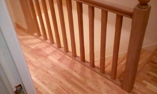 Image 52 - oak balustrade and engineered flooring