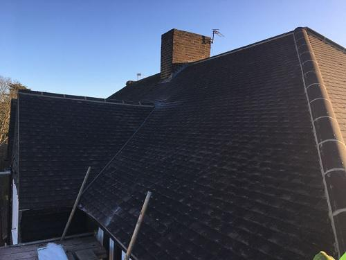 Image 13 - New tiled roof after