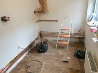 Image 41 - New pipework
