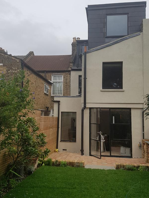 Image 12 - Hackney loft and extension showing showing acrylic render