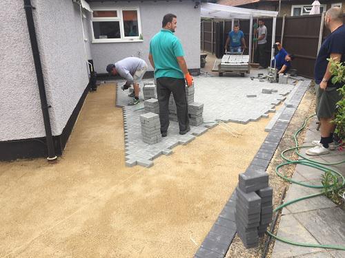 Image 43 - Block paving patio & pathways in Woking