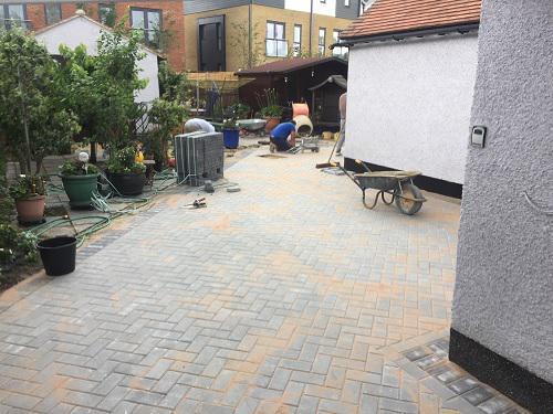Image 44 - Block paving patio & pathways in Woking