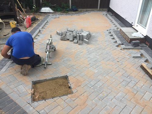 Image 45 - Block paving patio & pathways in Woking