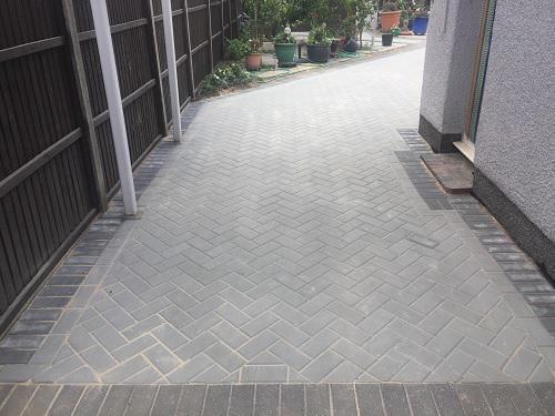 Image 46 - Block paving patio & pathways in Woking