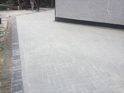 Image 48 - Block paving patio & pathways in Woking