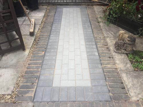 Image 50 - Block paving patio & pathways in Woking