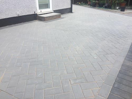 Image 51 - Block paving patio & pathways in Woking