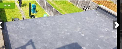 Image 61 - flat rubber roof
