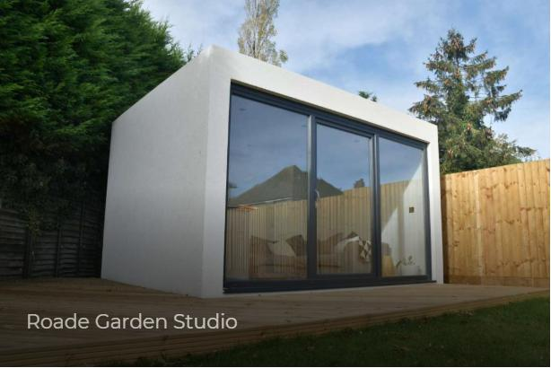 Image 11 - A luxury fully insulated garden studio built for a couple in Roads. 150mm of insulation, GRP roof, high quality sliding doors, electric heater, acrylic render are just a few of many features of this fabulous garden Room.