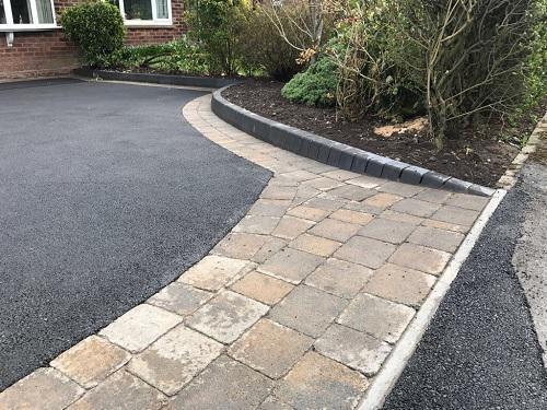 Image 56 - Tarmac & Alpha block paving driveway in Woking
