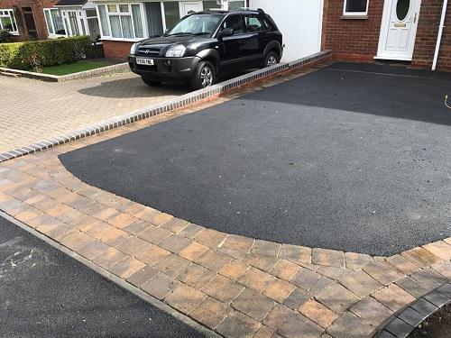 Image 61 - Tarmac & Alpha block paving driveway in Woking
