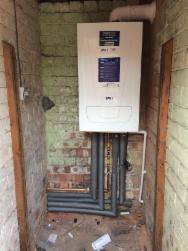 Image 9 - A outside boiler