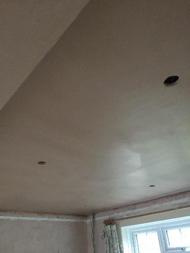 Image 9 - Skimming to new ceiling