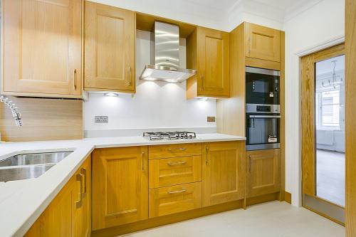 Image 53 - Moved kitchen door and installed new swing fire door