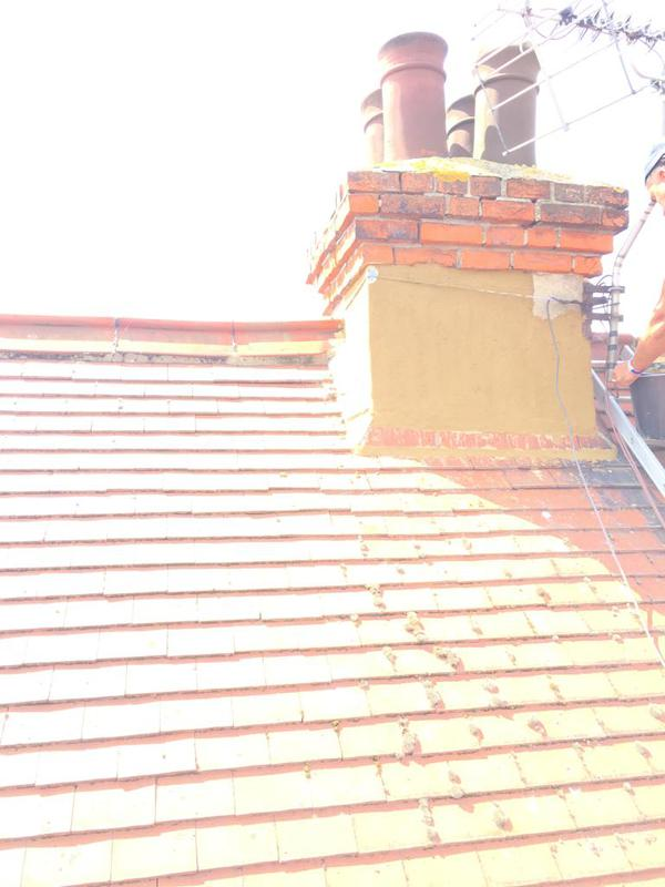 Image 18 - Chimney repaired and rendered