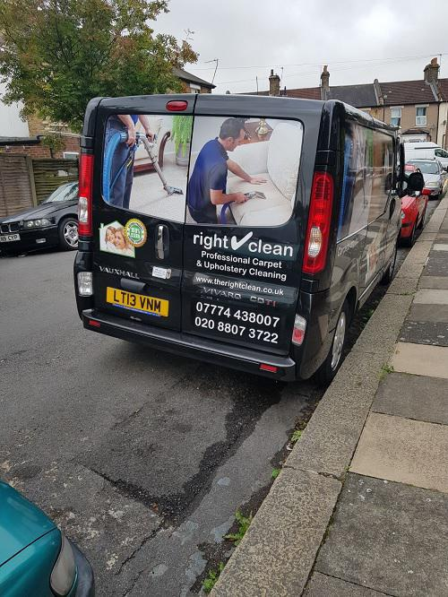 Image 5 - All our vans are sign written and are techicians wear uniform and carry ID
