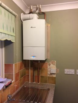 Image 45 - A Worcester combi boiler replacement