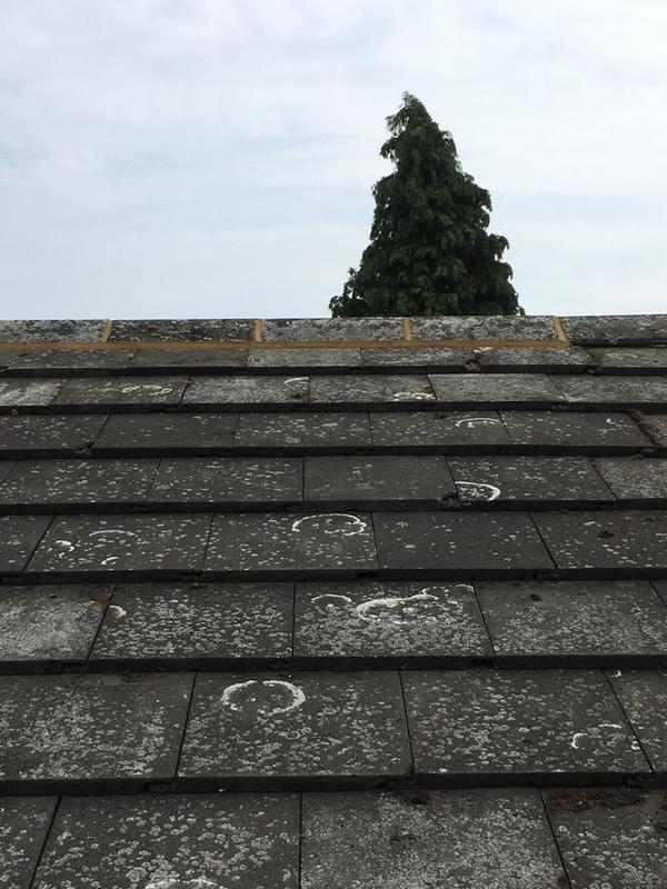 Image 20 - Ridge tiles relayed