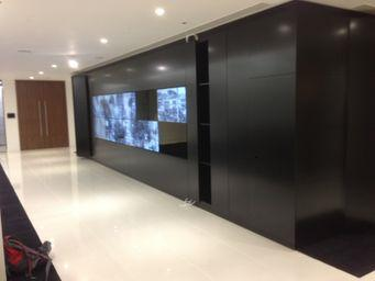 Image 5 - Completed Audio Visual Wall