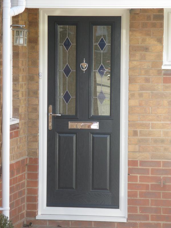 Image 34 - Blue Composite door install in Quorn