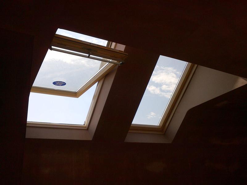 Image 14 - Board and skim around Velux windows