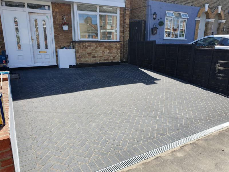 Image 74 - Block paving driveway