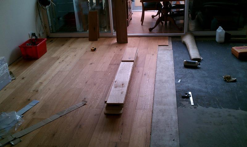 Image 28 - Engineered wood floor. 20mm