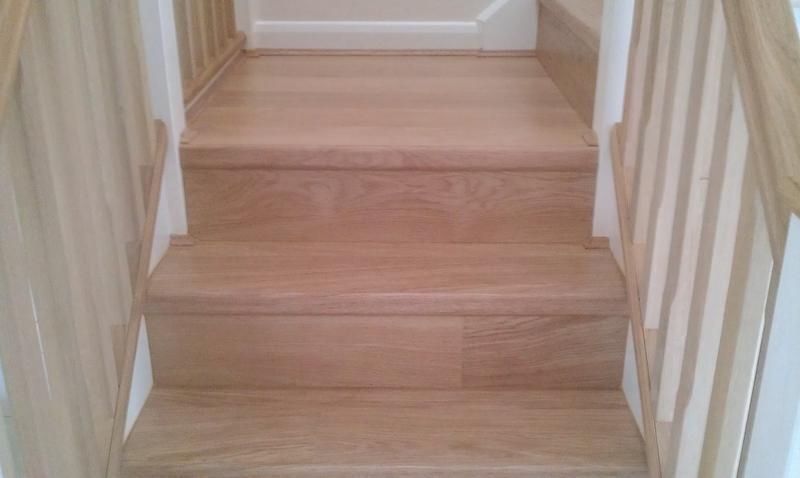 Image 24 - Quickstep laminate flooring to stairs