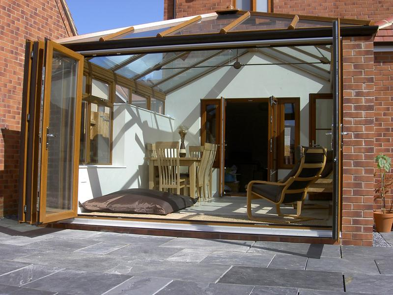 Image 39 - Conservatory with Bifold door for a customer in Benfleet