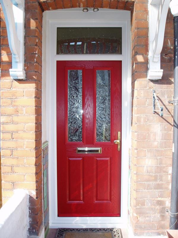 Image 29 - Red composite door