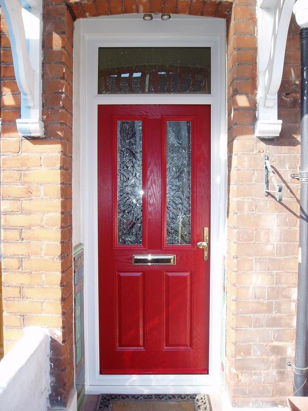 Image 29 - Red composite door
