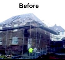 Image 2 - before new roof and roughcast