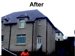 Image 1 - after new roof and roughcast