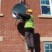 Image 5 - Satellite Master Antenna (SMA) TV on a new-build block of 9 apartments.