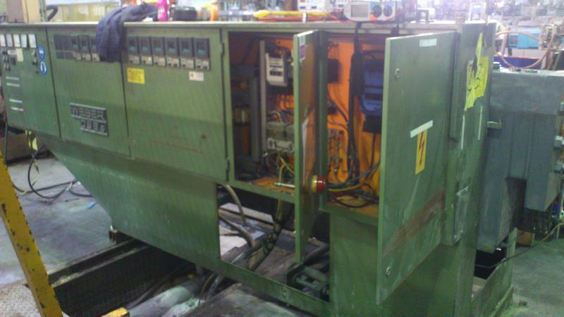 Image 11 - Moved and rewiring a Plastic extrusion machine.