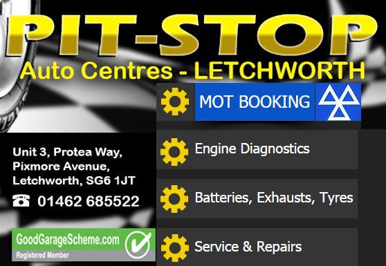 Pit-Stop Auto Centre (Letchworth) logo