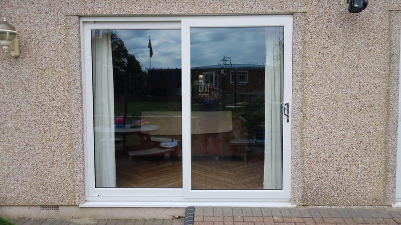 Image 104 - Pitsea-White UPVC patio doors
