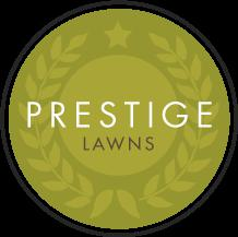 Prestige Lawns logo