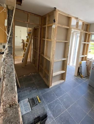 Image 32 - New walls built