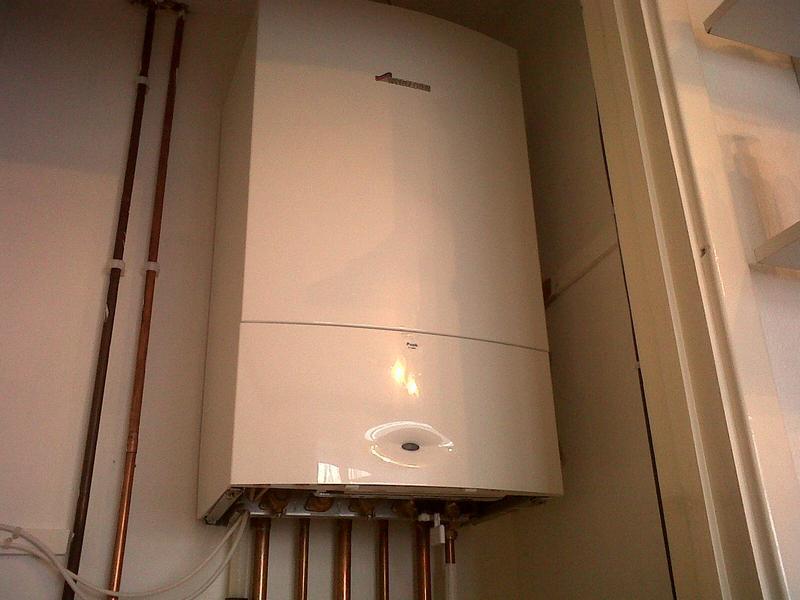 Image 30 - boiler installation