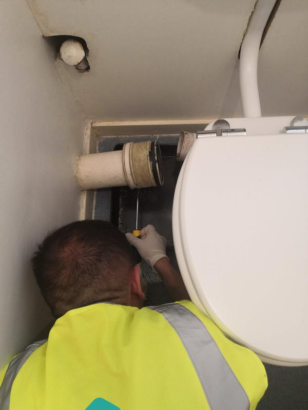 Image 13 - New toilet installation, blocked lavatory or leaky cistern - say no more!