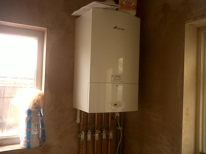 Image 31 - boiler installation