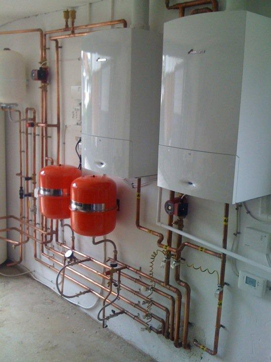 Image 29 - Boiler room installation