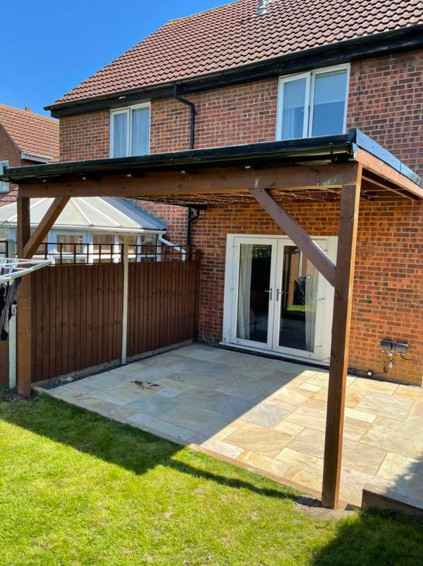 Image 11 - flat canopy roof
